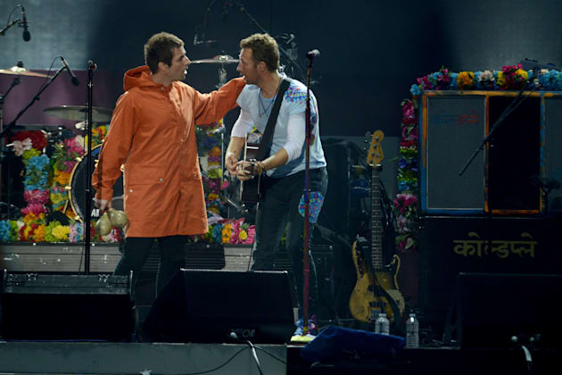Liam Gallagher al One Love Manchester