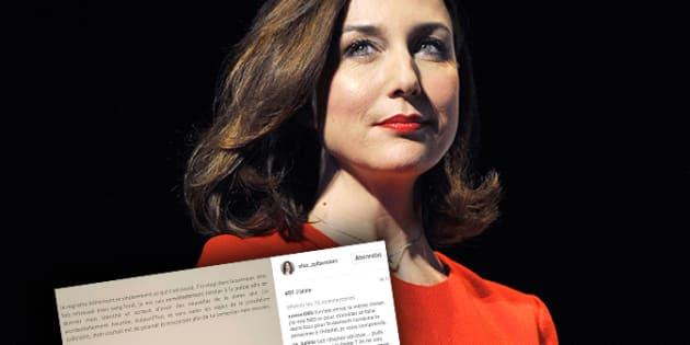 AFP                       Elsa Zylberstein publie ses excuses après sa garde à vue pour délit de fuite