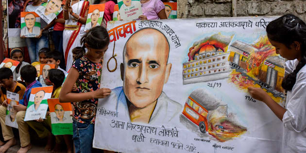 Jadhav case: India hands over mother's appeal to Pak