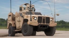 Oshkosh military vehicle