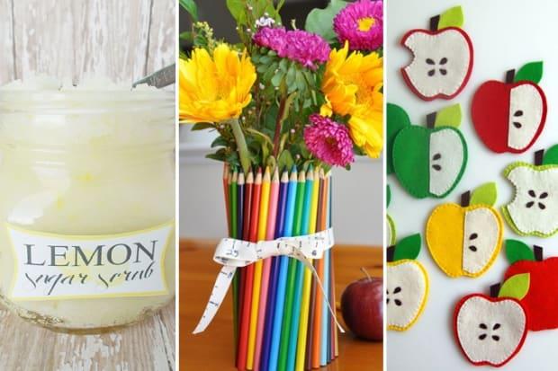 Homemade Gift Ideas For Teachers Teacher Gift Ideas 13 Cute