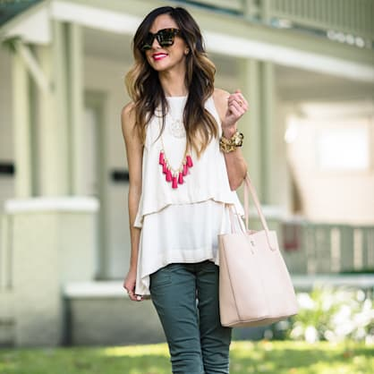 Street style tip of the day: Fall transitions