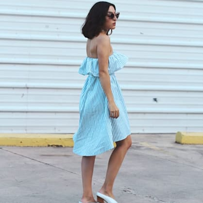 Street style tip of the day: Stripes and such