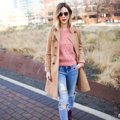 Street style tip of the day: Winter trenching