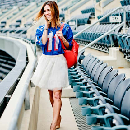 Street style tip of the day: Game day