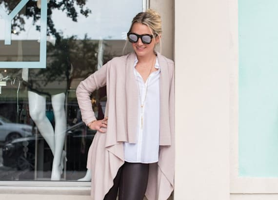 Street style tip of the day: Leather leggings
