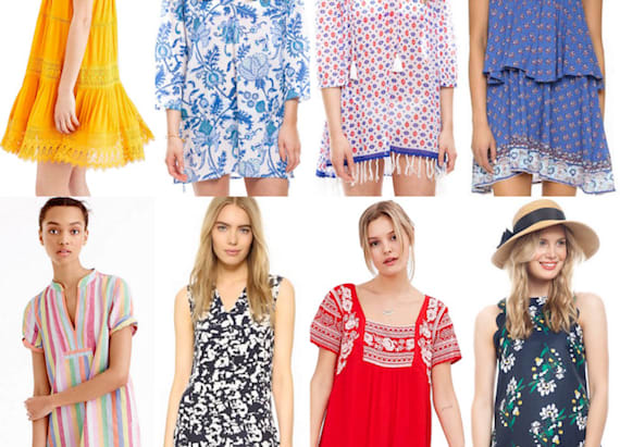 A dozen summer dresses