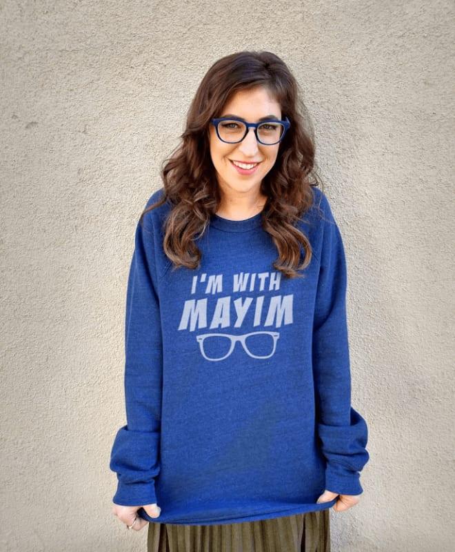 Mayim Bialik sweatshirt merch groknation