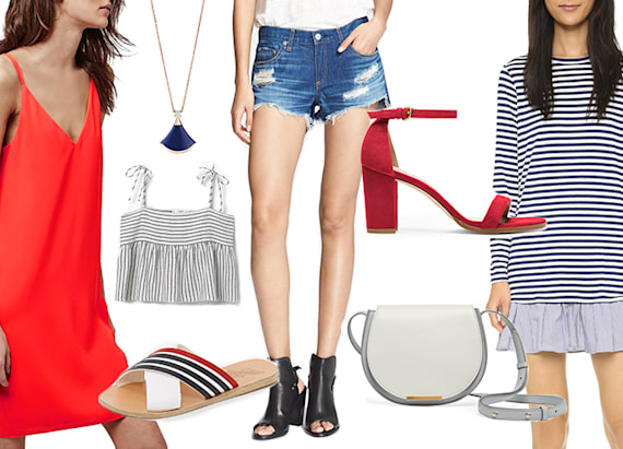 Perfectly patriotic style for the 4th of July