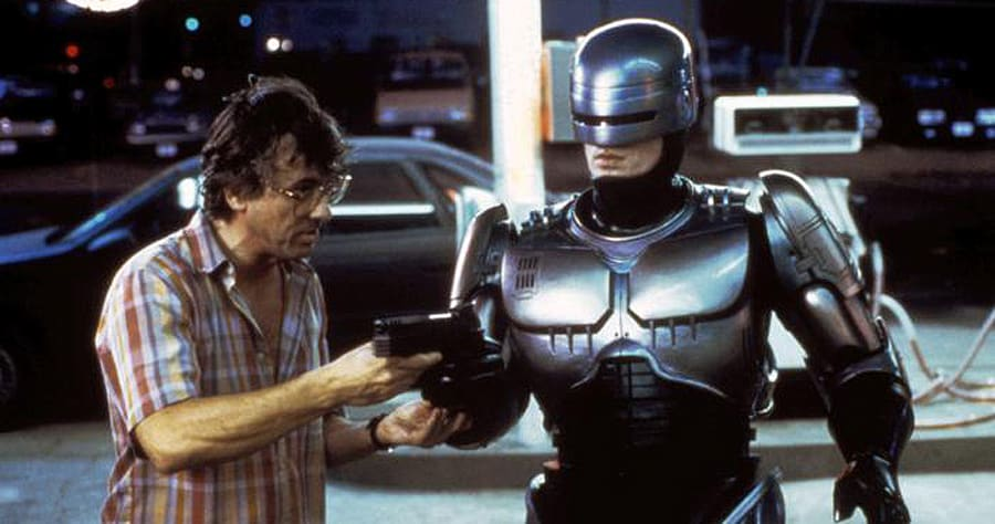 ROBOCOP, Director Paul Verhoeven, Peter Weller, 1987� Orion Pictures/