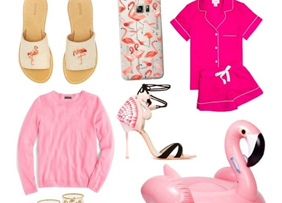 Why we're crushing on flamingo fashion pieces