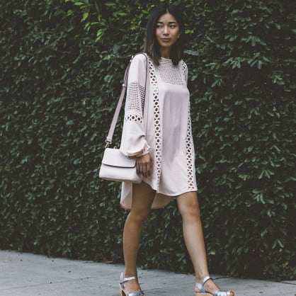 Street style tip of the day: Ladylike boho