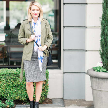 Street style tip of the day: Perfect layers