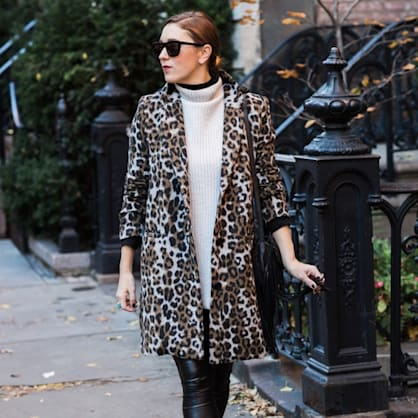 Street style tip of the day: Double turtleneck