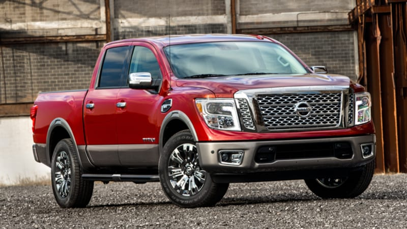The 2017 Nissan Titan half-ton is here