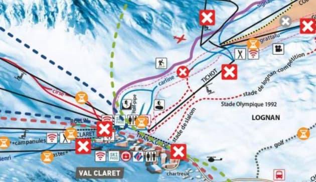 Des skieurs emportés dans une avalanche à Tignes — Savoie