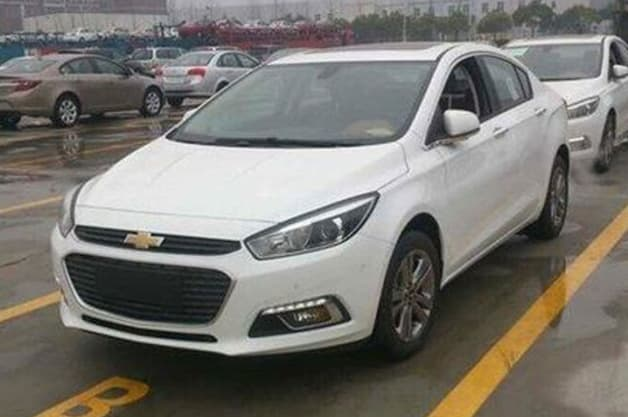 2016 Chevy Cruze spy