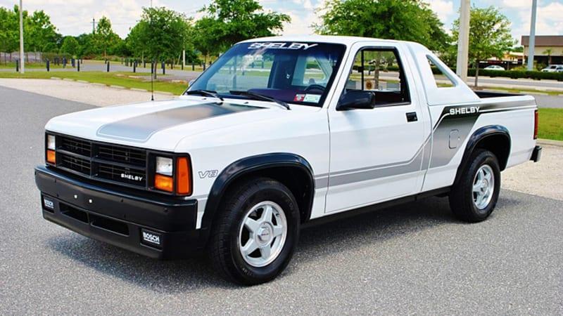 Rare Dodge Shelby Dakota Is A Very 80s Sport Truck Autoblog