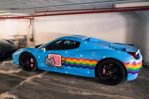 Electro Super Star Deadmau5 Selling Kitty Themed Ferrari 458
