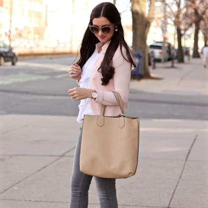 Street style tip of the day: Blushing