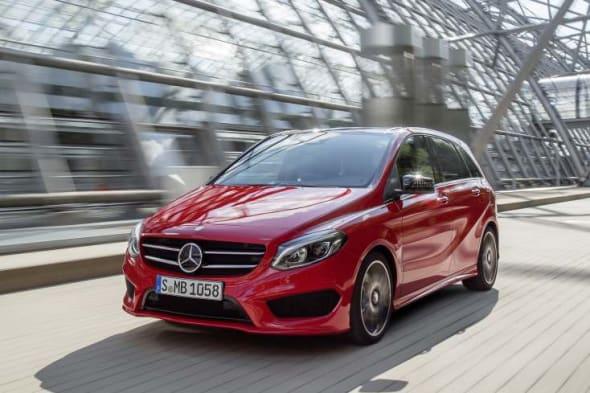 Facelift, Mercedes-B-Klasse, Mopf, Modellpflege, die neue B-Klasse, w246, w 246 Paris Auto salon, Pariser Auto salon, Mercedes-Benz B-Klasse 2015