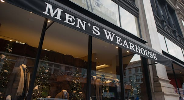 Men's Wearhouse Adopts New Look as Hunter Instead of Target