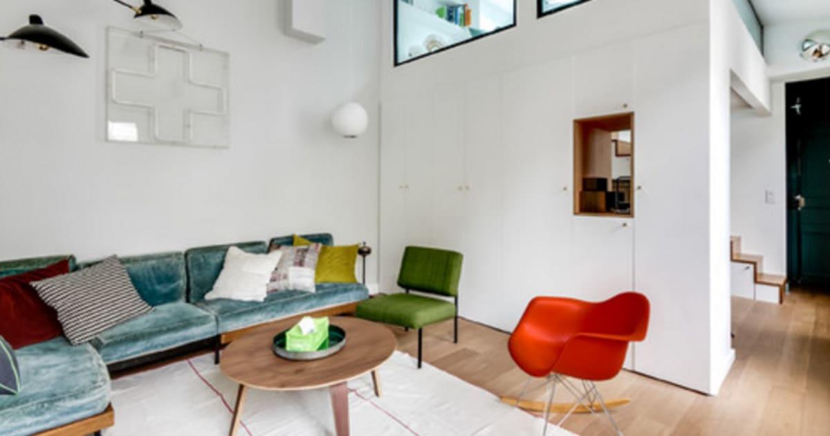 Cette architecte d 39 int rieur a m tamorphos cet for Interieur appartement parisien