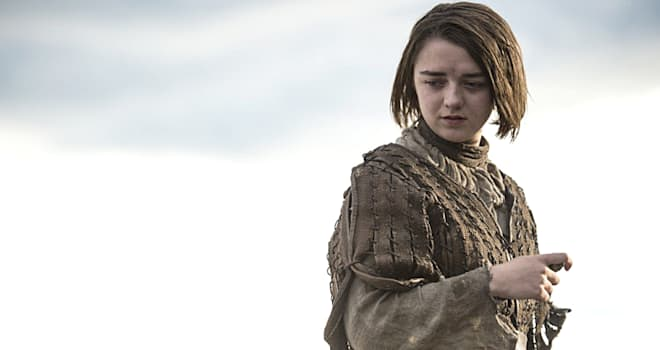Maisie Williams Gets in Touch with Her Dark Side