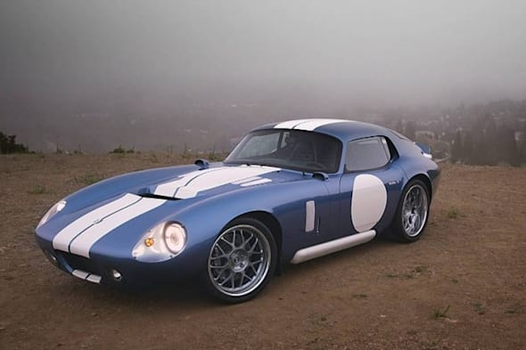 electric vehicle, pebble beach, renovo, renovo coupe, shelby daytona, silicon valley, supercar. elektromobilität, e-car, elektro sportwagen, vide