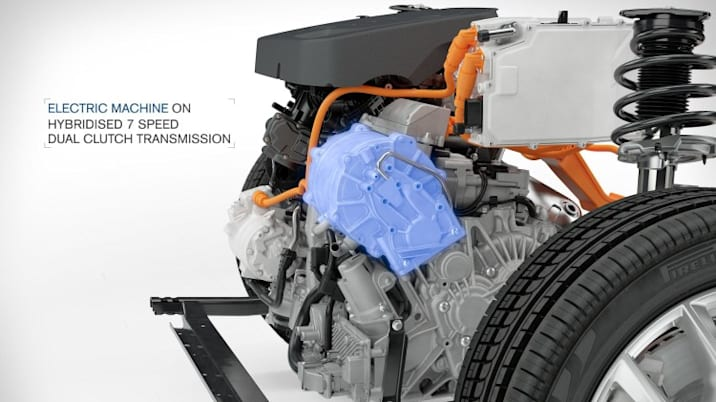 Volvo T5 Twin Engine powertrain