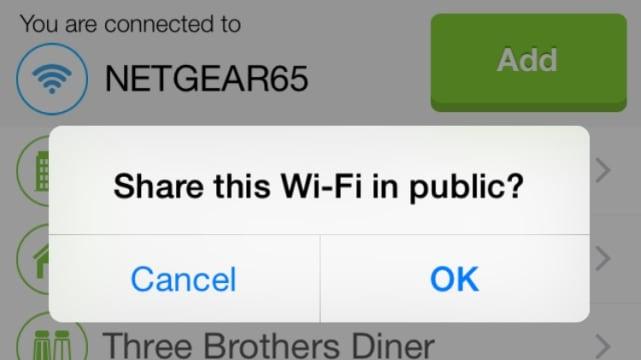 WiFi Map screenshot