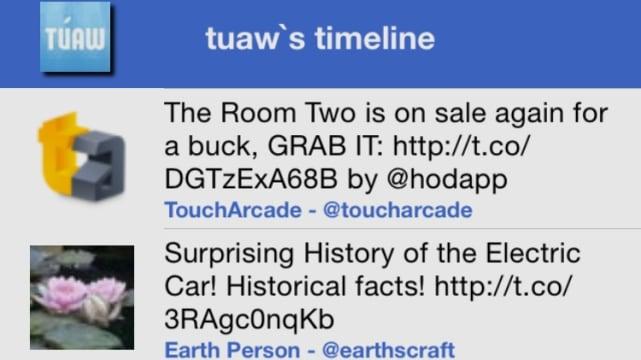 cTwittLike screenshot