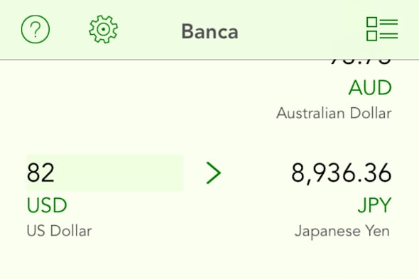 Banca screenshot