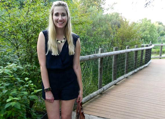 Street style tip of the day: Rompers and summer