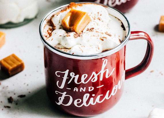 Hot chocolate with an unexpected twist