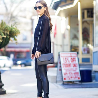 Street style tip of the day: Sheer