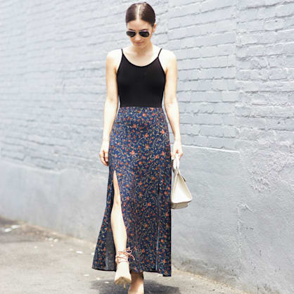 Street style tip of the day: The summer skirt