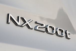 2015 Lexus NX 200t badge