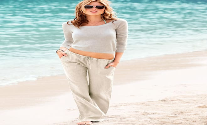 The Trick to Wearing Wrinkle-Free Linen Pants | Cambio