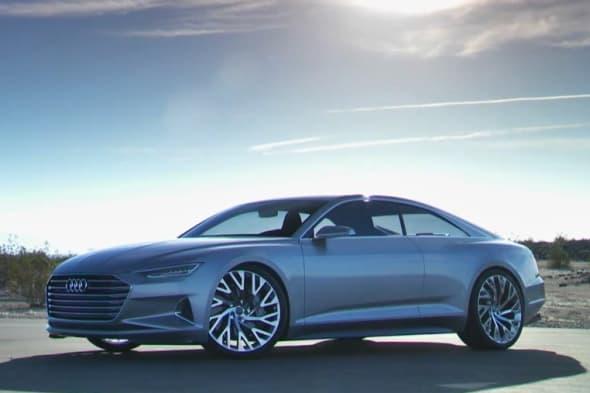 Der neue Audi A9 Audi Prologue zeigt sich ofiziell