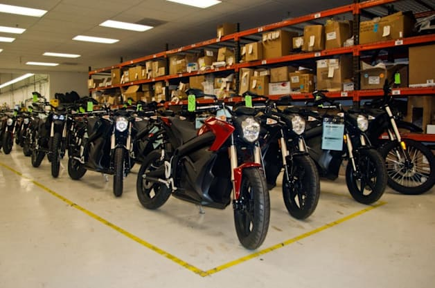 Zero Motorcycles Factory Tour
