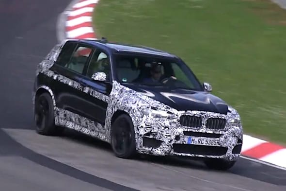 BMW, Nürburgring,  BMW X5 M, F15, F85, BMW X5, SUV, Erlkönig, spy shot, video