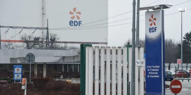 Un rassemblement pour dire non à la fermeture de Fessenheim — EDF Tricastin