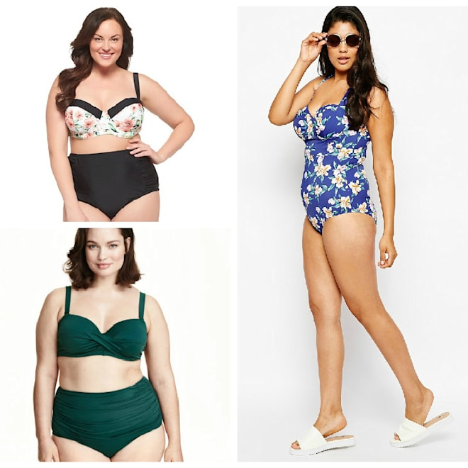 cute plus size swimsuits for 2015 summer
