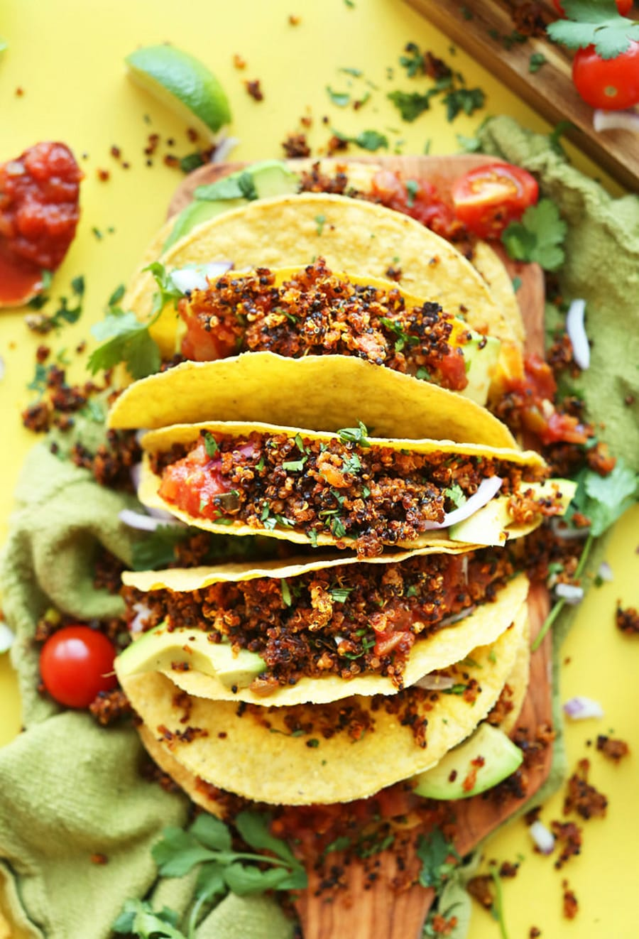 Recipe For Quinoa Taco Meat Minimalist Baker
