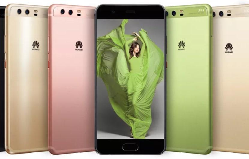 Das sehr farbenfrohe Huawei P10 ist da (Hands-On)