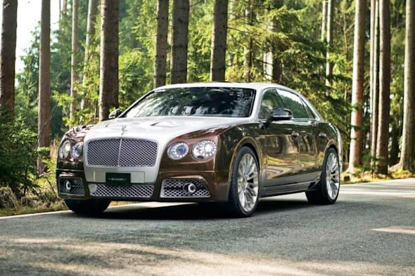 Tuner, Tuning, Genf, Bentley Flying Spur, Mansory, Mansory Flying Spur, W12, Auto salon Genf, Genfer auto salon, premiere, supercar, Biturbo, Zubehör