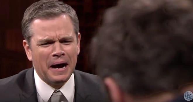 Matt Damon's 'Box of Lies' Game Takes a Gross, But Hilarious, Turn
