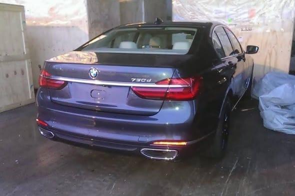 Ungetarnt erwischt: 7er BMW 2016