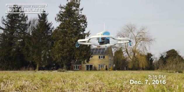la poste et amazon testent la livraison par drones mais vous n 39 tes pas pr s d 39 en voir dans le ciel. Black Bedroom Furniture Sets. Home Design Ideas